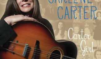 "This CD cover image released by Rounder Records shows ""Carter Girl,"" the latest release by Carlene Carter. (AP Photo/Rounder Records)"
