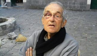 "Father Francis Van Der Lugt, 72, was was shot to death Monday by masked gunman in the central Syrian city of Homs, where he served as a missionary for roughly 50 years. ""Francis was a symbol of a dream for Syria, that there can be healing there, even be a home,"" said Father Thomas H. Smolich, president of the Jesuit Conference. (associated press)"