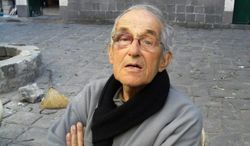 """Father Francis Van Der Lugt, 72, was was shot to death Monday by masked gunman in the central Syrian city of Homs, where he served as a missionary for roughly 50 years. """"Francis was a symbol of a dream for Syria, that there can be healing there, even be a home,"""" said Father Thomas H. Smolich, president of the Jesuit Conference. (associated press)"""