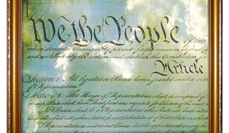 Big Picture Constitution Illustration by Greg Groesch/The Washington Times