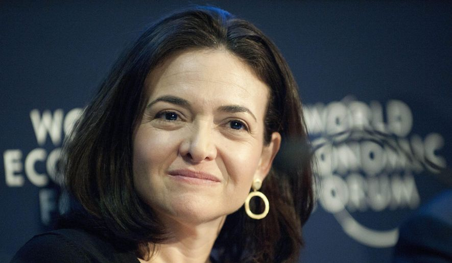 """Even with the popularity of Sheryl Sandberg's """"Lean In,"""" encouraging women to be career minded, Gallup reported that Americans' views of female bosses are largely unchanged since the 1980s, when the polling agency began asking the question. (AP Photo/Keystone, Laurent Gillieron, File)"""