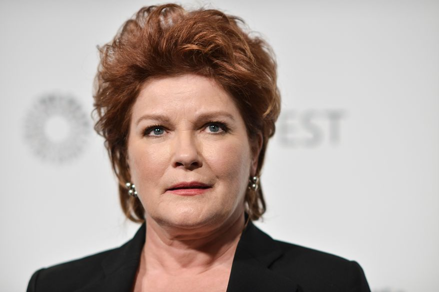 """**FILE** Kate Mulgrew arrives at PALEYFEST 2014 - """"Orange is the New Black"""" in Los Angeles on March 14, 2014. (Richard Shotwell/Invision/Associated Press)"""