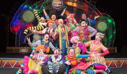 """The funniest clowns on earth will perform as part of the Ringling Bros. Barnum & Bailey's """"Built to Amaze"""" circus show running now through April 20 in Fairfax."""