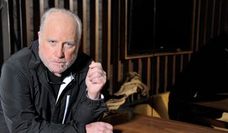 Richard Dreyfuss poses for a photo at The Roosevelt Hotel, on Friday, April 11, 2014 in Los Angeles. (Photo by Katy Winn/Invision/AP)