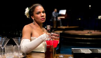 "This photo provided by Jeffrey Richards Associates shows Audra McDonald as Billie Holiday in ""Lady Day at Emerson's Bar & Grill"". (AP Photo/Jeffrey Richards Associates, Evgenia Eliseeva)"