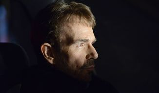 "This image released by FX shows Billy Bob Thornton as Lorne Malvo in a scene from ""Fargo."" The 10-episode season premieres Tuesday at 10 p.m. EDT on FX. (AP Photo/FX, Chris Large)"