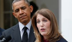 Sylvia Mathews Burwell filed detailed financial forms that provide a rare glimpse into how a major corporate foundation pays its executives. (Associated Press)