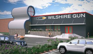 The Wilshire Gun range in Oklahoma City is hoping to become the first in its state to be granted a liquor license for those willing to knock back a few after a day of shooting. (WilshireGun.com)