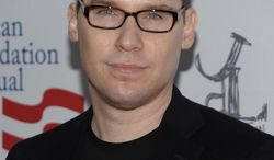 """FILE - In this March 3, 2012 file photo, director Bryan Singer arrives at the Los Angeles premiere of the play """"8"""" in Los Angeles. A man who claims he was sexually abused by the """"X-Men"""" franchise director Singer said Thursday, April 17, 2014, that he reported the molestation to authorities at the time, and does not know why charges were never pursued. Egan sued Singer in Hawaii on Wednesday, April 16, 2014, and is seeking more than $75,000 on each of four accusations: intentional infliction of emotional distress, battery, assault and invasion of privacy. (AP Photo/Dan Steinberg, file)"""