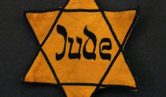 A Star of David, often yellow-colored, was used by the Nazis during the Holocaust as a method of identifying Jews.