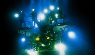 A screenshot from 1989's 'The Abyss.' (Image: 20th Century Fox)