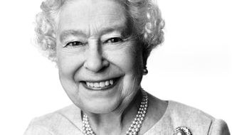 This portrait of Queen Elizabeth II taken and made available at 12:00 GMT Sunday, April 20, 2014, by British photographer David Bailey has been released to mark her 88th birthday on Monday April 21, 2014. The photograph was taken at Buckingham Palace in March and was commissioned on behalf of the British Government's GREAT Britain campaign. The image will be used in activity to support the GREAT campaign, which aims to generate jobs and growth through highlighting internationally Britain as a world-class destination for trade, tourism, investment and education. (AP Photo/David Bailey) NO SALES NO ARCHIVE  MANDATORY CREDIT DAVID BAILEY