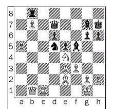 Korchnoi-Uhlmann after 27...Rb8.