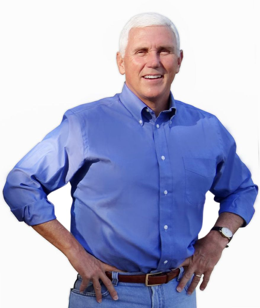 Indiana Gov. Mike Pence, on the list of potential White house hopefuls, is a featured speaker at the NRA annual meeting in Indianapolis. (Office of Gov. Mike Pence)