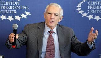 Retired U.S. Army Gen. Wesley Clark. (AP Photo/Danny Johnston/File)