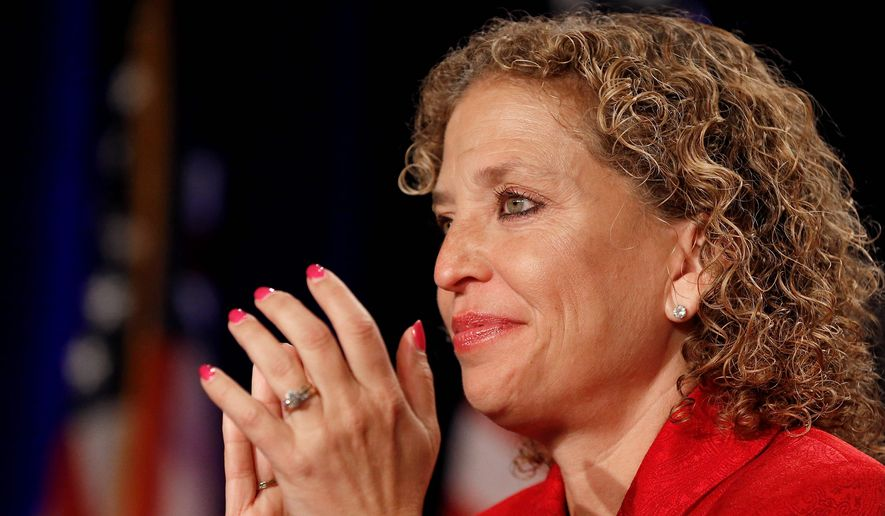 Rep. Debbie Wasserman Schultz, Florida Democrat (Associated Press) **FILE**