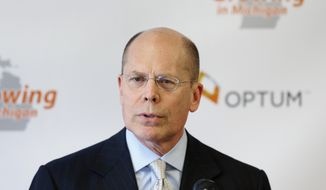 Stephen Hemsley, president and CEO of Minnesota-based UnitedHealth Group. (AP Photo) ** FILE **