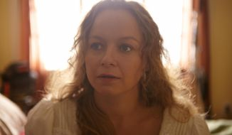 "This image released by Entertainment One Films shows Samantha Morton in a scene from ""Decoding Annie Parker."" (AP Photo/Entertainment One Films)"
