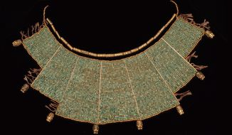 Beaded pectoral, Moche (A.D. 100-800) (Photo by Joaquin Rubio)