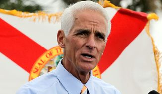 """Democratic challenger and former Florida governor Charlie Crist tweeted despite incumbent Rick Scott's obstacles """"almost one million Floridians now have affordable health coverage."""""""