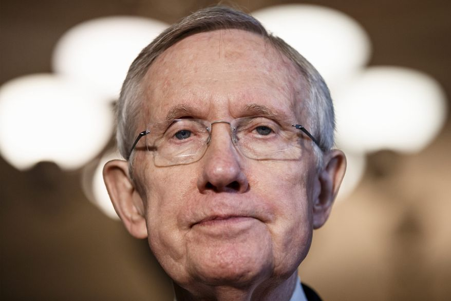 Folksy: Senate Majority Leader Harry Reid compared the fight with Republicans over the Keystone XL pipeline to a greased pig contest in which a deal always slips out of his hands.