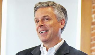 "Former Utah Gov. Jon Huntsman Jr. is the co-author of a new e-book, ""A Shared Vision for a Stronger America."" (Associated Press)"