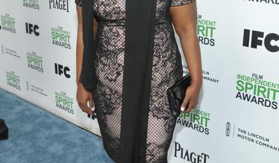 """FILE - In this March 1, 2014 photo, Octavia Spencer arrives at the 2014 Film Independent Spirit Awards, in Santa Monica, Calif. Fox said Tuesday, May 6, 2014, it's ordering TV series from filmmakers Lee Daniels and Steven Spielberg for the 2014-15 schedule. Spielberg is among the producers of """"Red Band Society,"""" with an ensemble cast starring Spencer.  (Photo by John Shearer/Invision/AP, file)"""