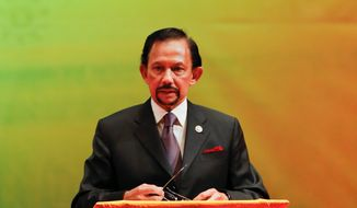 "Brunei's Sultan Hassanal Bolkiah said he saw it as his ""obligation"" to re-establish the Shariah law system practiced in the country centuries ago."