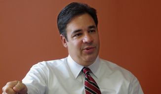 Rep. Raul Labrador, Idaho Republican, said the GOP will loosen penalties on illegal immigrants if Democrats will increase visas for high-tech workers. (Associated Press)