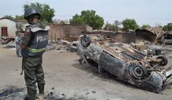 The kidnappings of nearly 300 schoolgirls, a deadly raid and the recent slaughter of 40 schoolboys by Islamist extremist group Boko Haram in Nigeria has draw the attention of Britain and the U.S. Both countries have dispatched advisors to help the Nigerian government deal with the terrorist group. (Associated Press)