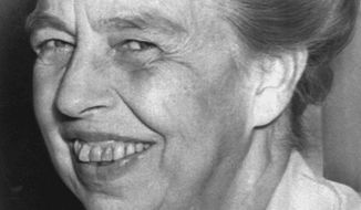 Eleanor Roosevelt, shown in this undated photo. (AP Photo)
