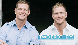HGTV has decided to cancel an upcoming television series featuring twin brothers David and Jason Benham, who renovate homes, because of liberal protests to cancel the show due to the brothers' Christian, conservative views. (BenhamBrothers.com)