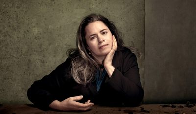 This undated image released by Nonesuch Records shows singer Natalie Merchant. Merchant released her self-titled album on Tuesday, May 6. (AP Photo/Nonesuch, Dan Winters)