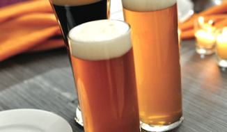 Craft beers on display. (Image from Savor)