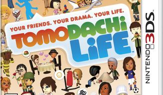 "FILE - This photo provided by Nintendo shows the cover of the video game, ""Tomodachi Life."" Nintendo is apologizing and pledging to be more inclusive after being criticized for not recognizing same-sex relationships in English editions of the life-simulator video game. But the publisher said it was too late to make changes. Nintendo came under fire from fans and gay rights organizations in early May 2014 after refusing to add same-sex relationship options to the game set for release June 6, 2014 in North America and Europe. (AP Photo/Nintendo)"