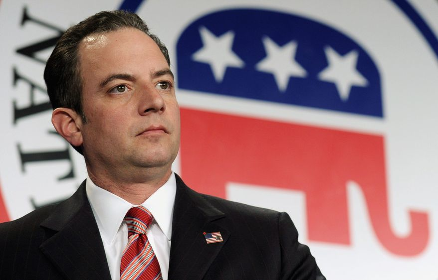The Republican Party voted Friday on a rule that could bar a presidential candidate from participating in any party-approved debate for the rest of the primary campaign season, if he or she participates in any unsanctioned debates, as determined by RNC Chairman Reince Priebus and a 13-member panel. (Associated Press)