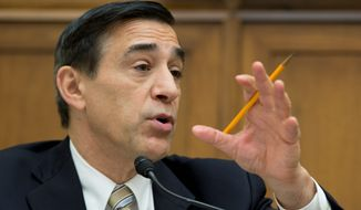 """How much pornography would it take for an EPA employee to lose their job?"" an incredulous Rep. Darrell E. Issa, California Republican and chairman of the House Committee on Oversight and Government Reform, asked an EPA deputy last week during a hearing into agency misconduct. (associated press)"