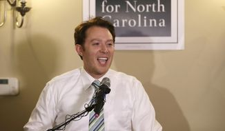 Clay Aiken. (AP Photo/Gerry Broome, File) ** FILE **