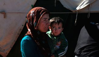 Dire situation: For Syrian refugees in Lebanon, the urgent need for food, water and shelter takes priority over concerns about sanitation, medical care and education. Photo by Omar Alkalouti