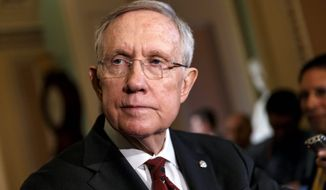 ** FILE ** Senate Majority Leader Harry Reid. (Associated Press)