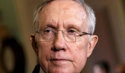 Senate Majority Leader Harry Reid, Nevada Democrat, would not commit Tuesday to bringing Judge Michael Boggs' nomination to the floor for a vote, saying he will wait for the outcome of the vetting process underway in the Judiciary Committee. (associated press)