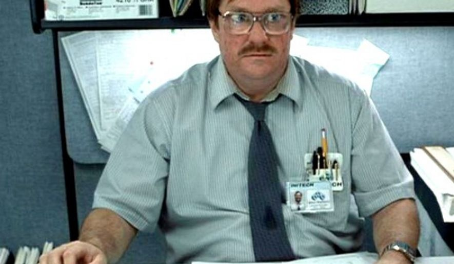 A screen grab from the 1999 movie 'Office Space.'