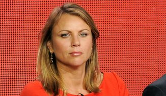 "The Left doesn't want Lara Logan to return to CBS' ""60 Minutes,"" in part because she was, and is, unabashedly pro-military. (Associated Press)"