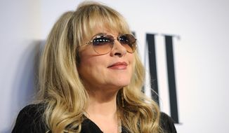 Stevie Nicks, winner of the BMI Icon Award, arrives at the 62nd Annual BMI Pop Awards at the Beverly Wilshire Hotel on Tuesday, May 13, 2014, in Beverly Hills, Calif. (Photo by Chris Pizzello/Invision/AP)