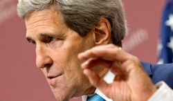 House's top investigator issued a subpoena Thursday demanding that Secretary of State John F. Kerry appear before Congress at the end of this month to answer questions about whether he stonewalled a Benghazi investigation. (AP Photo/Jacquelyn Martin, pool)