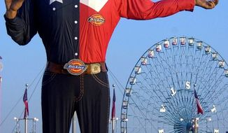 Big Tex at the Texas State Fair.