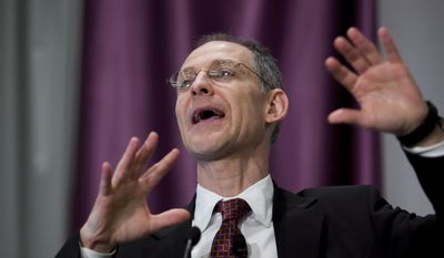 Dr. Ezekiel Emanuel was an influential voice in the drafting of the Affordable Care Act. (AP Photo/J. Scott Applewhite)