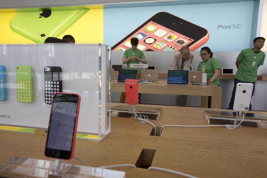 Apple Inc. holds $132 billion in cash abroad, the largest amount by far of any U.S.-based company. Apple and many other American corporations are reinvesting the money they amass into operations in China and other overseas markets that have been growing faster than their U.S. operations. (Associated press)