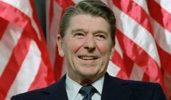 A presidential foundation and astute historians can do much to guard the legacy of Ronald Reagan in a chaotic age. (Ronald Reagan Presidential Foundation) **FILE**