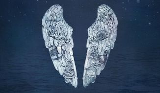"This CD cover image released by Parlophone Records shows ""Ghost Stories,"" by Coldplay. (AP Photo/Parlophone Records)"
